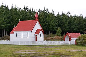 Architecture of New Zealand - Waitetoko Church, Lake Taupo