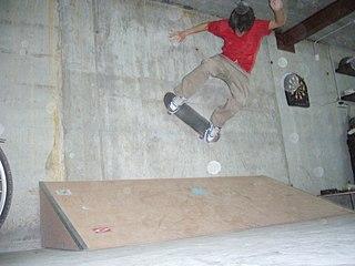 Wallride Skateboard trick