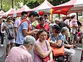 Wan-An Jiang Talking with Futai Village Neighbors 20150613a.jpg