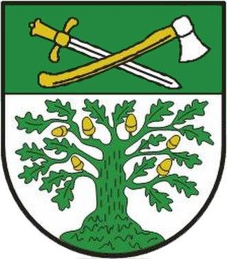 Tostedt - Image: Wappen der Gemeinde Tostedt
