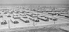 War Relocation Authority camp near Jerome, Arkansas (1942).jpg