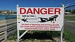Warning sign on Maho Beach.jpg