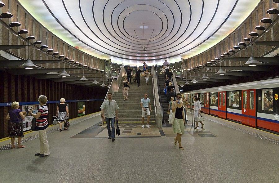 Plac Wilsona metro station