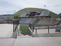 Washington Grizzly Stadium at the University of Montana in Missoula.jpg