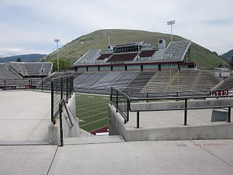 Washington–Grizzly Stadium - Image: Washington Grizzly Stadium at the University of Montana in Missoula