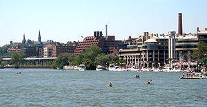 Washington Harbour - Image: Washington Harbour view