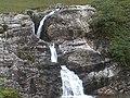 Waterfall at pass of Glencoe - geograph.org.uk - 756997.jpg