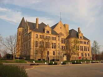 Wayne Township, Wayne County, Indiana - The Wayne County Courthouse in Richmond