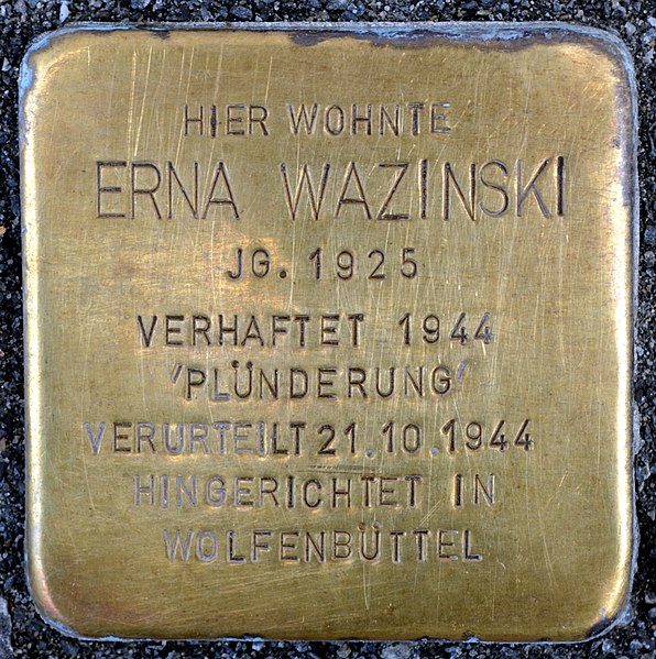 File:Wazinski Erna Stolperstein Braunschweig (2012).JPG