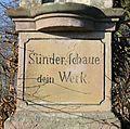Wegekreuz in Lohmar - Weeg - Inschrift.jpg