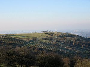 Werneth Low near Hyde, Greater Manchester, on ...