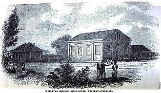 Tranby House - Wesleyan Mission, Swan-River, Western Australia (August 1852)