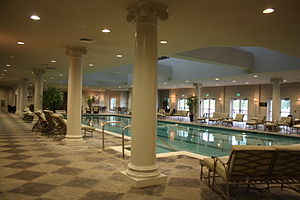 Natatorium - Image: West Baden Springs Hotel swimming pool