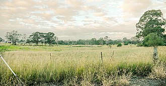 Western Sydney Airport - Image: Western Sydney (Badgerys Creek) Airport site Anton Rd