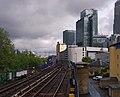 Westferry DLR station MMB 10.jpg