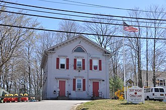National Register of Historic Places listings in Norfolk County, Massachusetts - Image: Weymouth MA John Adams School