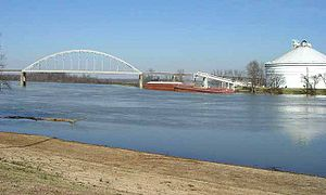Des Arc, Arkansas - The White River at Des Arc, Arkansas