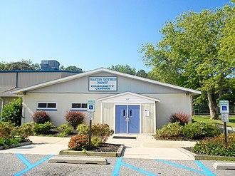Whitesboro, New Jersey - Image: Whitesboro NJ MLK Community Center