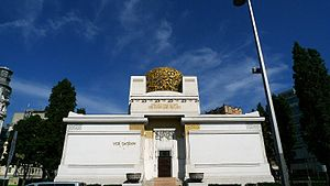 1897 in architecture - Secession Building, Vienna