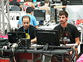 Wikimedia Spain in Campus Party 2011 in Spain - TV Realization control.jpg