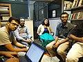 Wikimeetup Bangalore 59 Chinmayi Shubhashish.jpg
