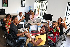 Wikipedia Igbo Women Edit-a-thon - December 2017 - All Laughing.jpg