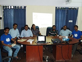 Wikipedia Meetup in Bangalore, 22 May 2011 6.jpg