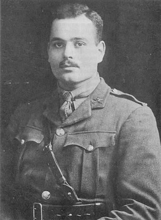 Wilfred Bion - Wilfred Bion in uniform in 1916