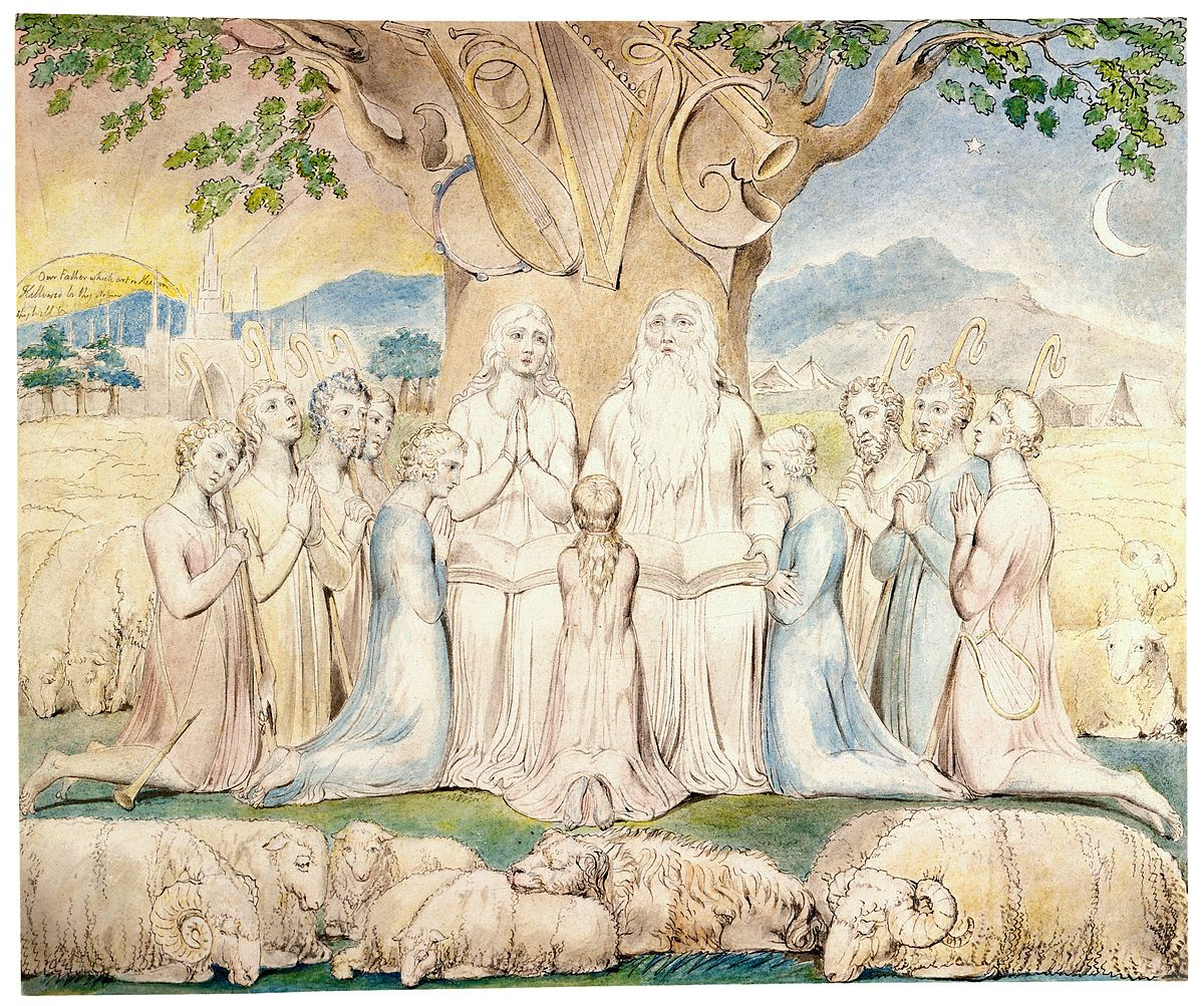 William Blake - Job and His Family.jpg