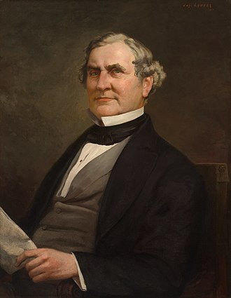 1860 and 1861 United States House of Representatives elections - Image: William Pennington portrait