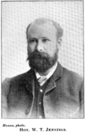 Taumarunui by-election, 1915 - Image: William Thomas Jennings (Cyclopedia of New Zealand) NZETC
