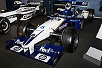 Williams FW24 front-left 2017 Williams Conference Centre.jpg