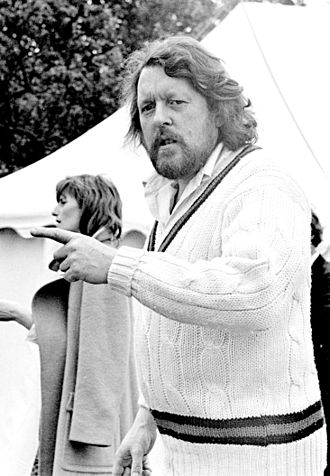 Willie Rushton - Rushton at a charity cricket match, May 1976