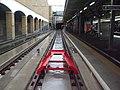 Wimbledon station Tramlink new platform 10a look south November 2015.JPG