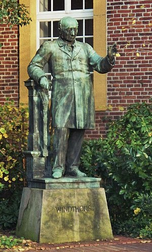 Ludwig Windthorst - Memorial at the Meppen Windthorst school