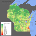 Wisconsin population map.png