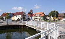 Wolgast Schlossgrabenbrücke Altstadt.JPG