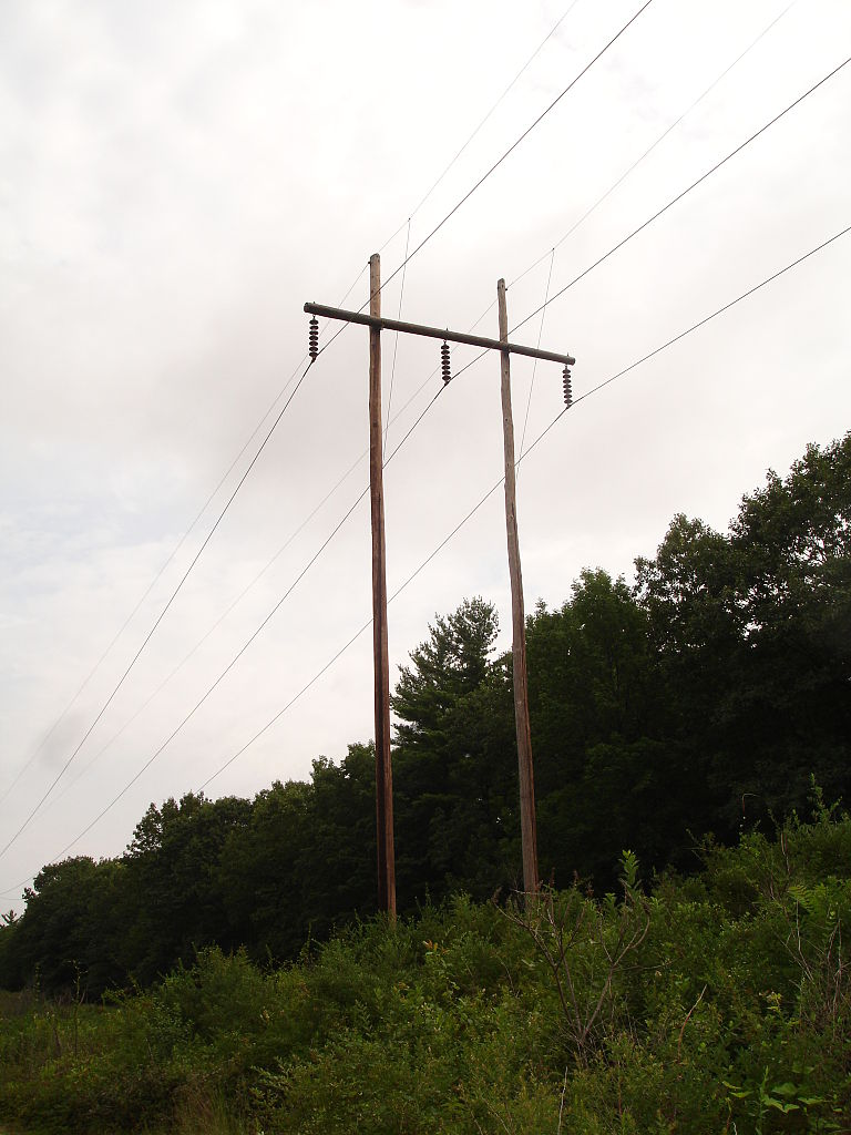 Wood Power Poles Sizes : File wood pole structure g wikimedia commons