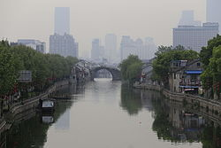 Grand Canal and Qingming Bridge