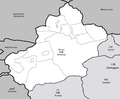 Xinjiang prefectures provinces labelled.png