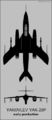 Yakovlev Yak-28P (early) two-view silhouette.png