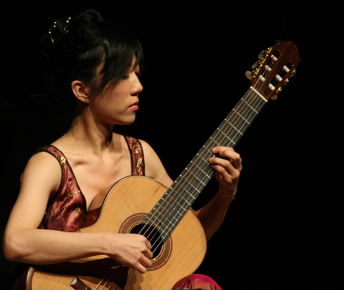 asian female guitarist Famous