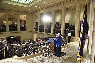 Janet Yellen - Yellen delivers farewell speech to Federal Reserve Staff in 2018