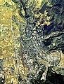 Yokote city center area Aerial photograph.1976.jpg
