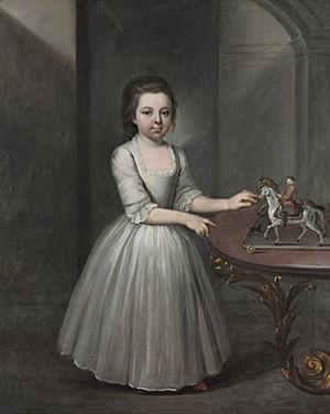 Francis Brerewood - Image: Young Girl by Francis Brerewood