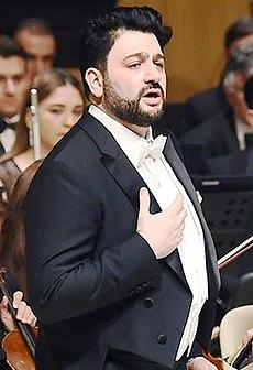 Юсиф Эйвазов в 2019 году.
