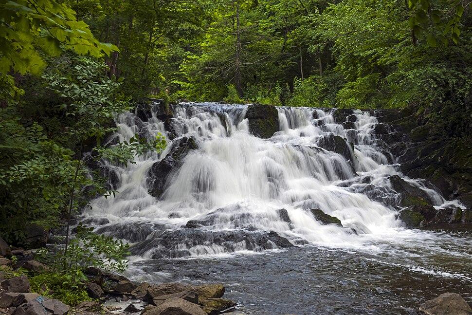 Zabriskie's Falls on the Saw Kill, Bard College, Annandale-on-Hudson, NY, longer exposure