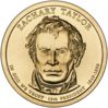 Zachary Taylor Presidential $1 Coin obverse.png