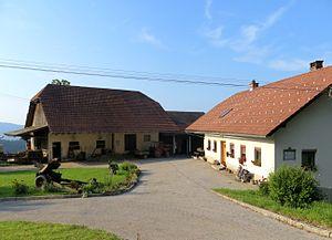 Jurij Vega - Farm where Vega was born