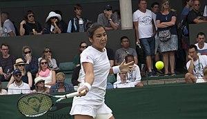 Zarina Diyas - Zarina Diyas, Wimbledon 2017